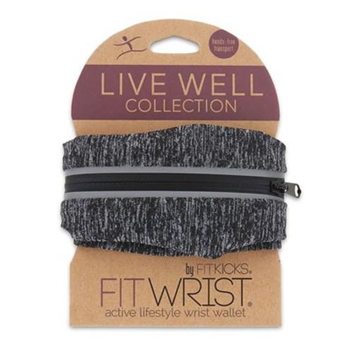 DM Merchandising FitWrist Wrist Wallet, Black