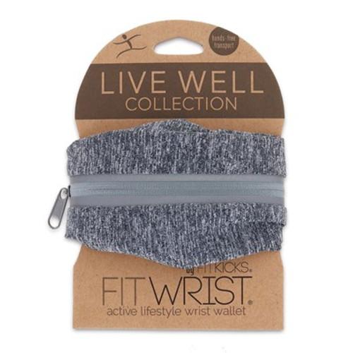 DM Merchandising FitWrist Wrist Wallet, Gray