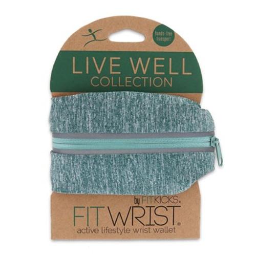 DM Merchandising FitWrist Wrist Wallet, Mint