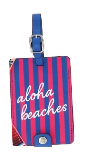 DM Merchandising Sage & Emily Getaway Girl Luggage Tag, Aloha Beaches