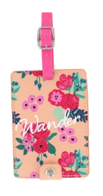 DM Merchandising Sage & Emily Getaway Girl Luggage Tag, Wander