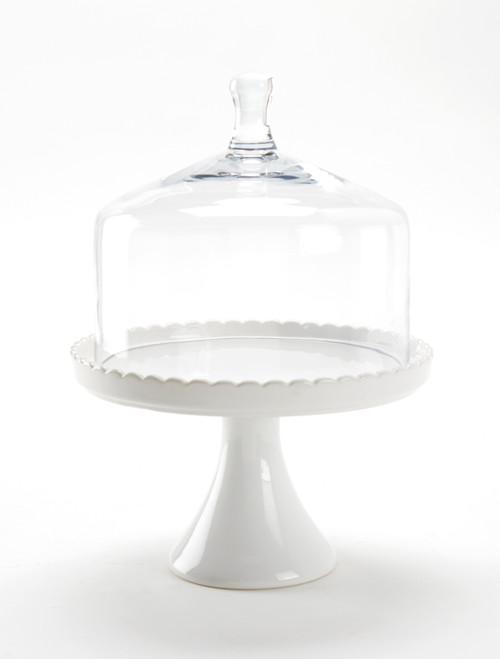 Tableau Glass Cloche, Medium