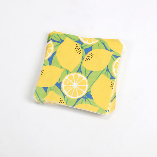 180 Degrees Lunch Paper Napkins, Lemons