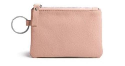 Burano Coin Bag/Keyring, Blush