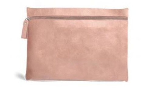 Burano Flat Cosmetic Bag, Blush