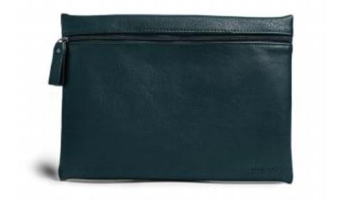 Burano Flat Cosmetic Bag, Jade