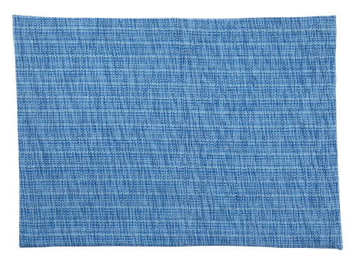Tableau Rectangular Placemats, Melange Blue, Set of 4