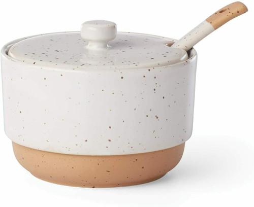 Dansk Koffie Sugar Bowl With Spoon
