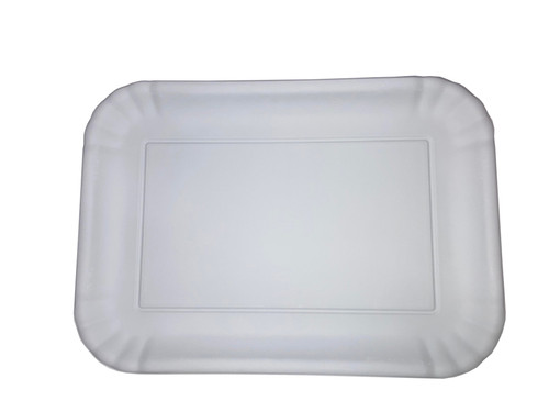 "180 Degrees Melamine 7 x 10"" Tray, White"