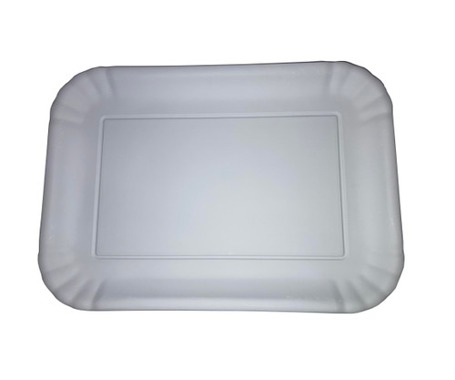 "180 Degrees Melamine 9 x 12"" Tray, White"