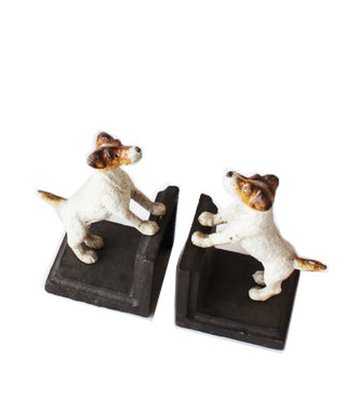 180 Degrees Dog Bookend, Brown