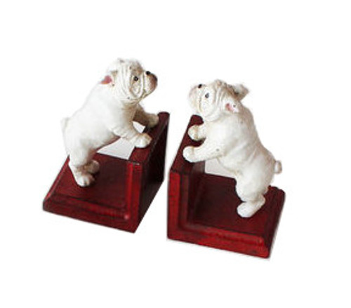 180 Degrees Dog Bookend, Red