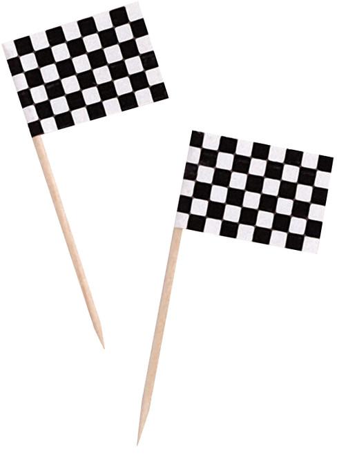 CEG Party Picks, Race Flag, 50 Count (010223)