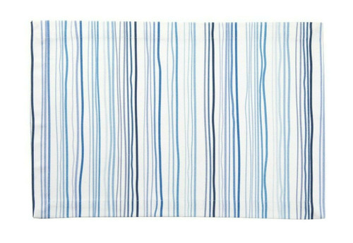 Tableau Rectangular Placemats, Watercolor Stripe, Set of 4