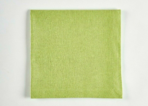 Tableau Essential Cloth Napkins, Pear Green, Set of 4
