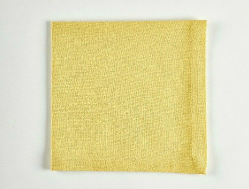 Tableau Essential Cloth Napkins, Buttercup, Set of 4