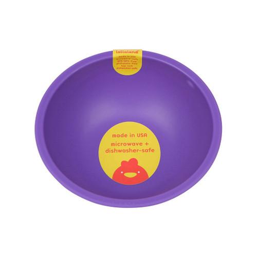 Lollaland Mealtime Bowl, Proud Purple