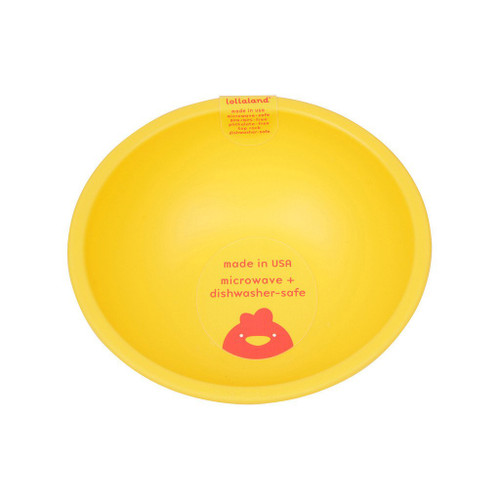 Lollaland Mealtime Bowl, Chirpy Yellow