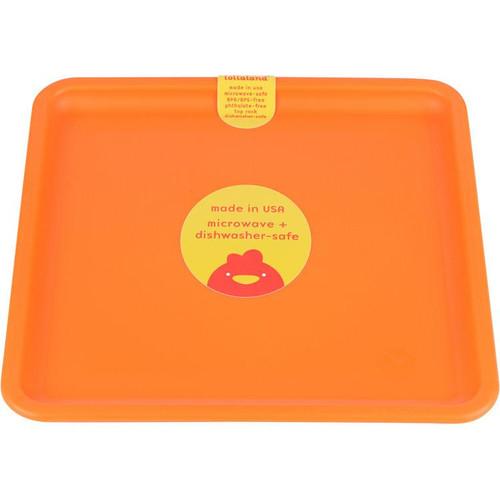Lollaland Plate, Happy Orange