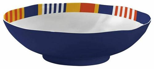 Merritt Oars Serving Bowl