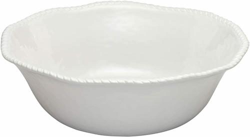 """Merritt White Rope 14"""" Serving Bowl (21388)"""