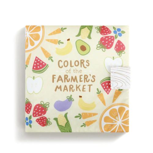 Demdaco Farmer's Market Soft Book