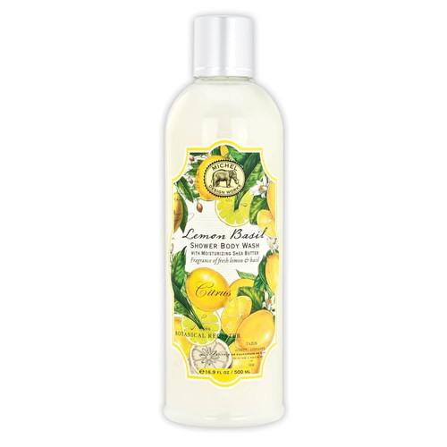 Michel Design Works Shower Body Wash, Lemon Basil