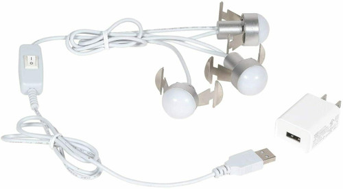 Department 56 Village USB LED 3 Light Set