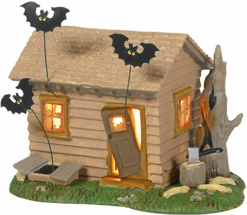 Department 56 Peanuts Village - Peanuts Haunted House