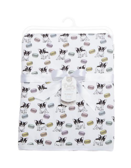 Ganz Baby Blanket, Bijou French Bulldog