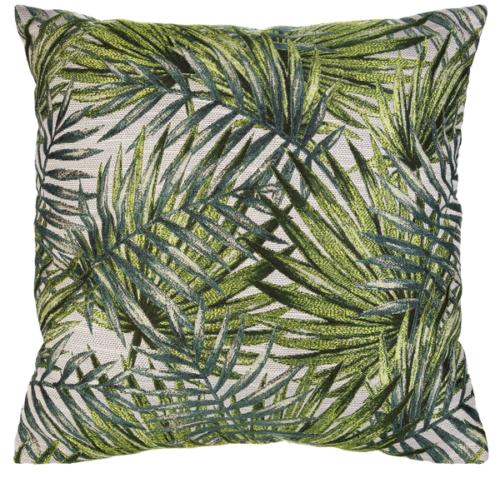 Ganz Palm Leaves Pillow