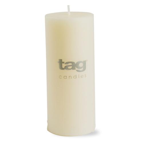 "TAG Chapel Pillar Ivory Candle 2""x 5"""