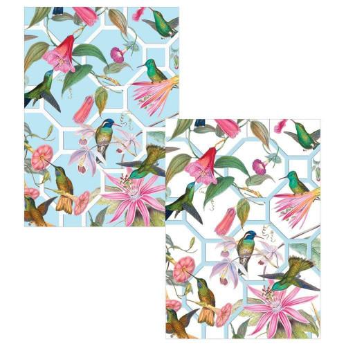 Caspari Boxed Note Cards, Hummingbird Trellis, Box of 8 (89601.46)