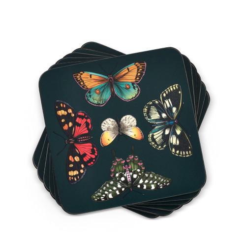 Pimpernel Coasters, Botanic Garden Harmony, Pack of 6