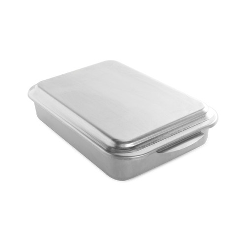 Nordic Ware Classic Metal Covered Cake Pan, 2-Piece (46320)