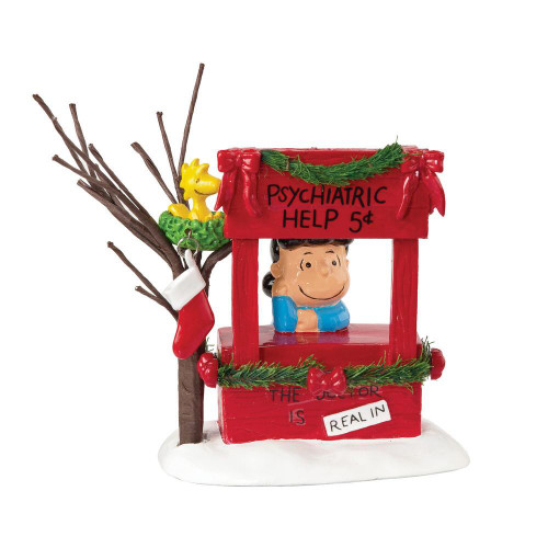 Department 56, Peanuts Village, Lucy Is In