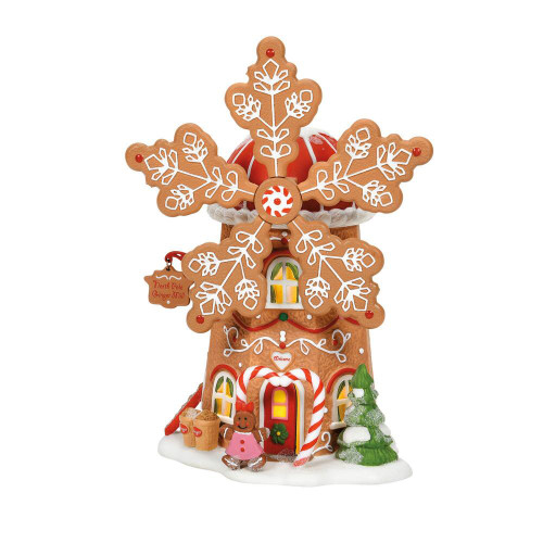 Department 56, North Pole Series, Gingerbread Cookie Mill