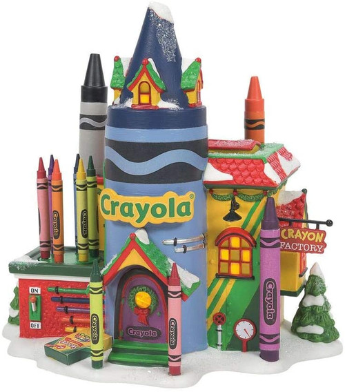 Department 56 North Pole Series Crayola Crayon Factory