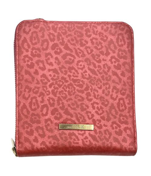 Ganz Crossbody Luxe Leopard Crossbody Bag, Red