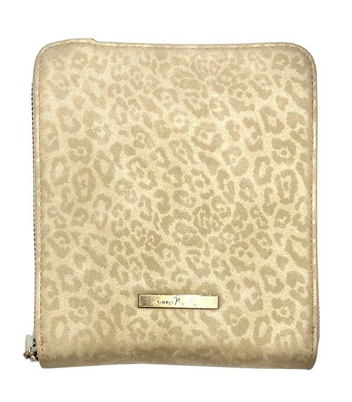 Ganz Crossbody Luxe Leopard Crossbody Bag, Tan