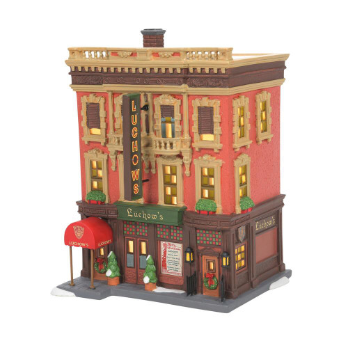 Department 56, Christmas in the City, Luchow's German Restaurant