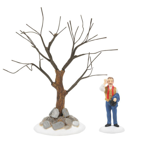 Department 56, Dickens' Village, The Hardy Ash, 2-Piece