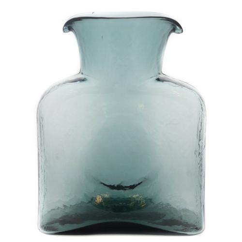 Blenko Glass Water Bottle, Charcoal