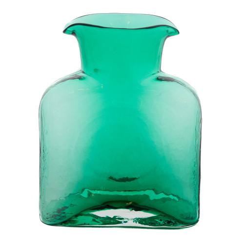 Blenko Glass Water Bottle, Seafoam