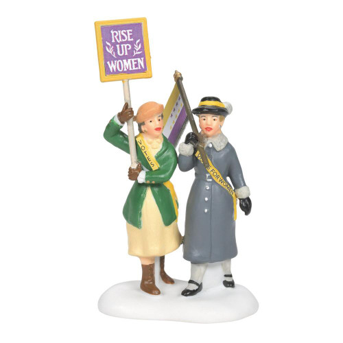 Department 56, Christmas in the City, Suffragettes