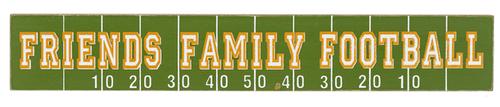 Ganz Football Shelfsitters, Friends Family Football
