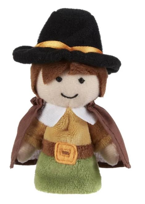 Ganz Thanksgiving Finger Puppet, Boy Pilgrim