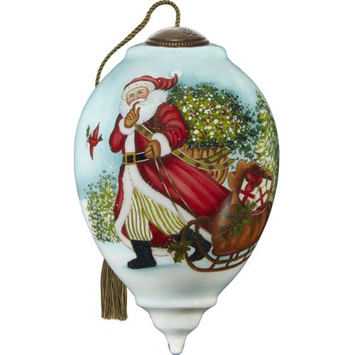 Ne'Qwa, Santa is on His Way Ornament