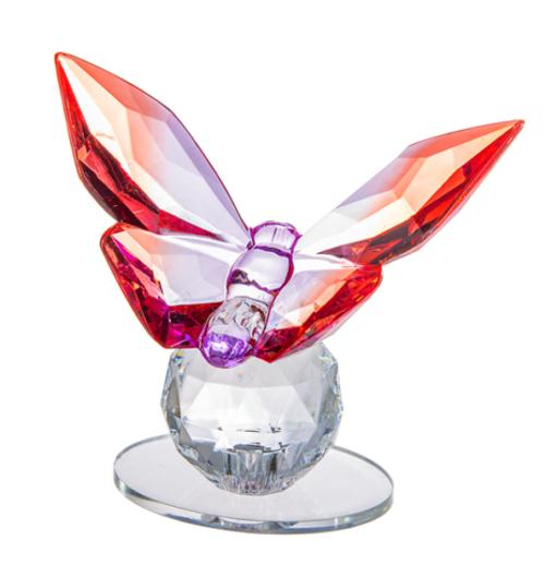 Ganz Butterfly Figurine, Red