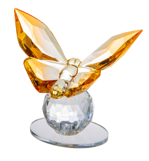 Ganz Butterfly Figurine, Orange